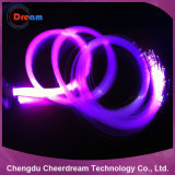 1.0mm PMMA Enden-Glühen-Plastik aus optischen Fasern