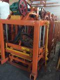 Máquinas Shengya Qtj4-40 máquina para fazer blocos ocos
