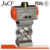 Qualitäts-gesundheitliches Drosselventil mit Aluminiumstellzylinder