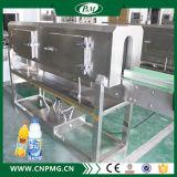 Halbautomatische Plastikflaschenshrink-Hülsen-verpackenbeschriftengerät
