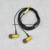 Trasduttore auricolare del metallo di alta qualità con il Mic, telefoni dell'orecchio per iPhone6