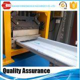 Rodillo derecho afilado del panel de la azotea de la costura de la situación que forma la máquina