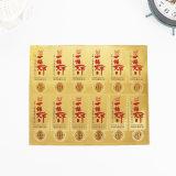Отличное качество золотая фольга бумага нестандартный виниловые наклейки из стекла