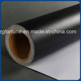 2017熱い販売PVC広告のための光沢のある白黒いBlockout屈曲の旗