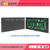 Долгий срок службы для использования вне помещений P10/SMD DIP полноцветный светодиодный дисплей