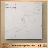 Carrara 백인은 인공적인 석영에 견본 색깔을 돌을 던진