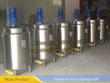 Reattore di serbatoio di reazione chimica dell'acciaio inossidabile del reattore chimico 500L