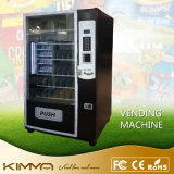 La máquina expendedora del agua embotellada fría utiliza el pago de NFC