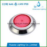 Luz da piscina do diodo emissor de luz do material 12V IP68 do aço inoxidável