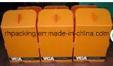 Oranje Witte Blauwe pp Corflute Correx Coroplast plooiden Plastic Doos voor Vruchten en Voedsel en het Drinken