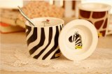 나팔 모양 직업적인 식기를 위한 관례에 의하여 인쇄되는 세라믹 커피 잔