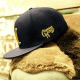 Sombrero plano del Snapback del casquillo del borde de los paneles de encargo del bordado 6