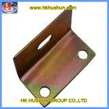 Fornecer acessórios de hardware personalizados, placa de cair de borracha de zinco (HS-FS-0011)