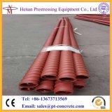 Tubos de tubulação plástica de HDPE ondulados pós-tensão