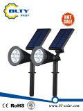 調節可能な防水LEDの太陽庭の経路ライト
