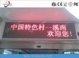 Хорошего качества для использования вне помещений P10 светодиодный индикатор красного цвета на экране Text при работающем двигателе