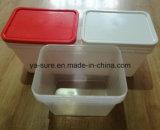 Neuer Typ 2016 pp.-Nahrungsmittelgrad-rechteckiger Plastikbehälter 25L für das Verpacken der Lebensmittel