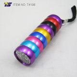 Kleurrijk Lichaam 6 van de regenboog LEIDEN Flitslicht (T4198)