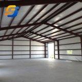 Prefabricados personalizados cobertizo de almacenamiento de almacén de la estructura de acero