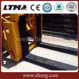 Programa piloto de bloque de la alta calidad cargador del frente de la carretilla elevadora de 16 toneladas