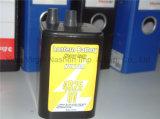 Перезаряжаемые батарея фонарика углерода цинка батареи 4r25 6V сверхмощная