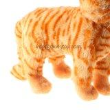 Gatto di Tabby molle passato En71 della peluche del giocattolo dell'animale farcito