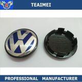Hubcap do tampão do centro de roda da liga do logotipo do carro da VW Passat do ABS do costume 65mm