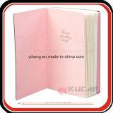 주문 인쇄 두꺼운 표지의 책 장식용 선전용 선물 일기 예정표 전표 책