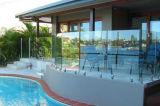 Verre trempé clair pour la frontière de sécurité de piscine