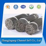400 Grit pulido de tubos soldados de acero inoxidable de SS304 SS201 material SS316L