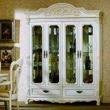 白いペンキの世帯のワインのキャビネット(GSP9-048)