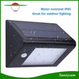 20 LED 350lm Capteur de mouvement à énergie solaire PIR pour jardin Yard Wall Light Super Bright IP65 Waterproof Security Lamp