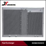Radiateur en aluminium brasé de compresseur d'air d'ailette de plaque