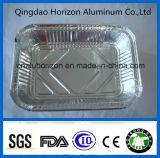 323*266*64мм лоток из алюминиевой фольги для продовольственной безопасности категории