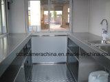 Carrelli mobili degli alimenti a rapida preparazione della via mini con la finestra dello schermo (SHJ-MFS250)