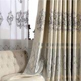 ヨーロッパの贅沢な様式の刺繍の停電の窓カーテン(19F0051)