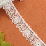 安くブラのためのナイロン花嫁のレースのトリムの輸入業者をカスタム設計しなさい
