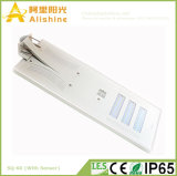 60W PIRセンサーが付いている高性能のMonocrtystallineのケイ素の太陽電池パネルLED Steetライト