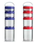 Пластичная бутылка трасучки протеина