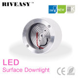 iluminación blanca montada superficie de Downlight LED de la MAZORCA de 5W LED