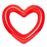 عملاقة قابل للنفخ أحمر قلب بركة عوّامة