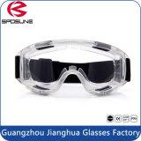 ストラップが付いている粋で明確なレンズの目の防護眼鏡の安全働くガラス
