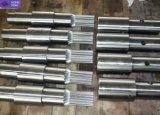 acier allié de haute précision forgé l'arbre cannelé standard