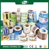 Escritura de la etiqueta caliente de la etiqueta engomada de la impresión BOPP de la venta