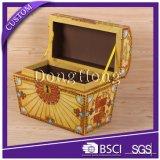 Imprimé Cmyk luxe Treasure Chest Carton Emballage Boîte cadeau