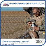 Agua reactiva Militar Mre sin inflamación Ration calentador bolsa