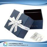 Reloj/joyería/regalo de encargo rectángulo de empaquetado de la visualización de madera/del papel (xc-hbj-015)