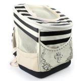 Bolsa de transporte de cão de gato de design de moda de couro