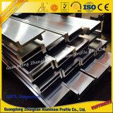 Perfil de aluminio modificado para requisitos particulares fabricante de aluminio de la protuberancia de la ranura de T