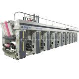 7 Moteur 8 Machine d'impression couleur Gravure 150m / Min